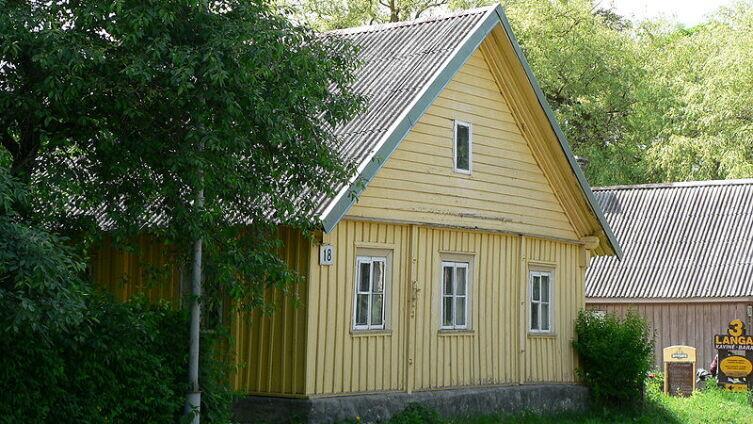 Караимский дом в Тракае