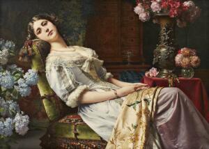 Несмотря на то, что женщина постепенно отвоевывает свои права у мужчин, мода XIX века еще по-буржуазному целомудренна и стыдлива.