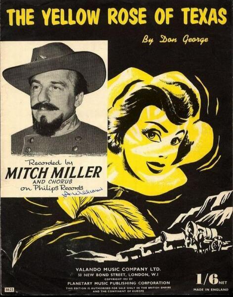 Обложка диска Митча Миллера