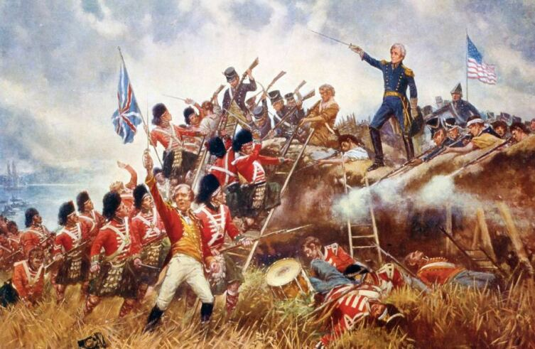 Edward Percy Moran, «Битва за Новый Орлеан»