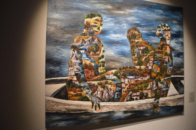 Объемная картина в Эрарте