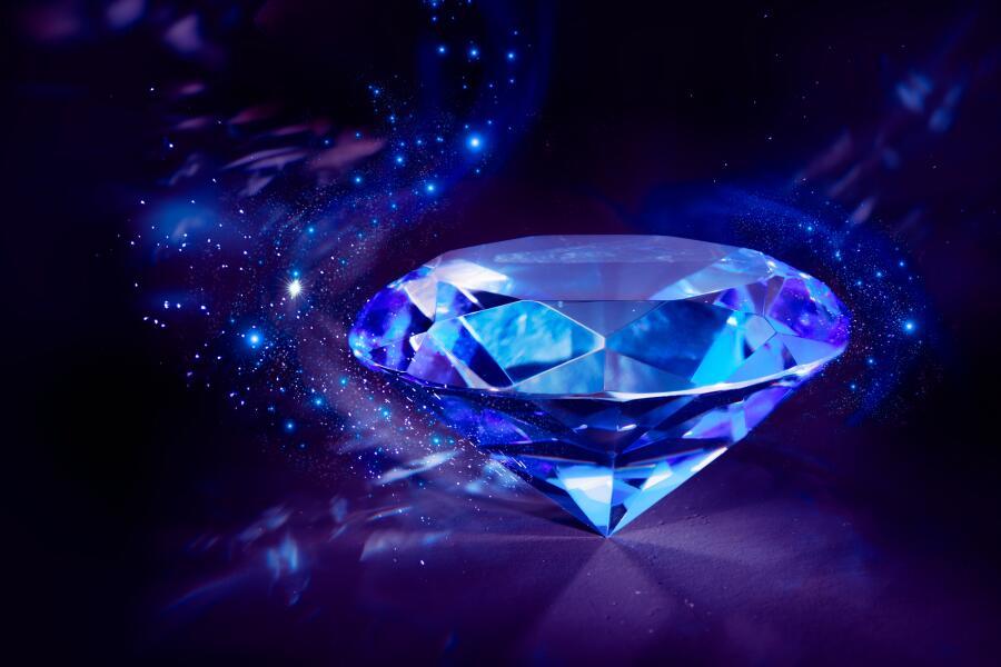 Синий алмаз. На что способны самоцветы?