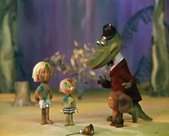 Мультфильмы из детства. В чем обаяние Гены и Чебурашки? Часть 1, цензурная