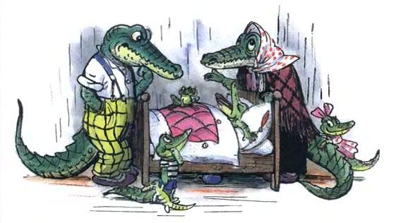 Сказки К. Чуковского. Чем так страшен «Крокодил»?