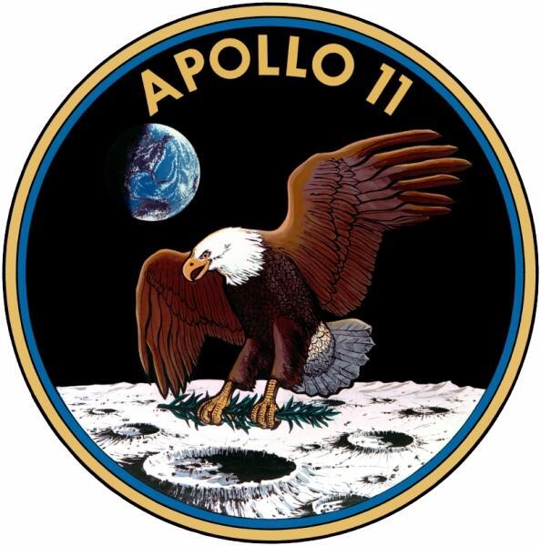 Эмблема Апполона-11