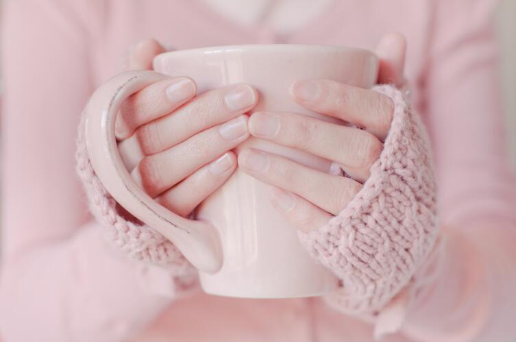 Теплый розовый подходит весеннему и осеннему цветотипу