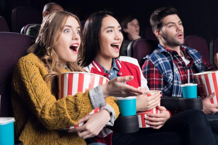 Сходите с друзьями в кино