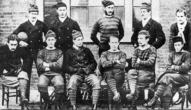 «Ройал Энджинирс» — команда, финалист первого розыгрыша Кубка Англии