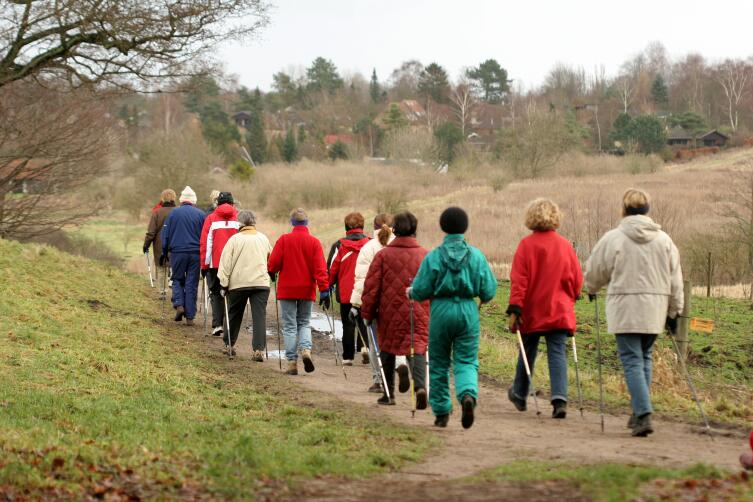 Чем скандинавская ходьба отличается от обычной?