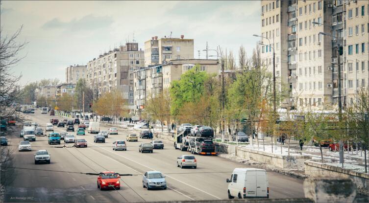Проспект Слобожанский, бывший Правды в Днепре, бывшем Днепропетровске
