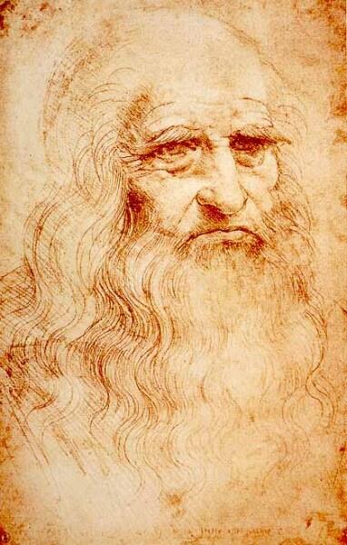 Леонардо да Винчи был левшой