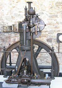 Стационарный одноцилиндровый дизельный двигатель, Германия, Аугсбург, 1906 г