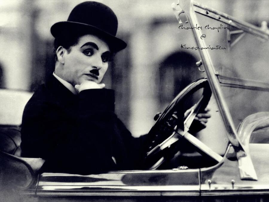 Чарли Чаплин был левшой