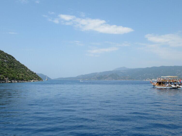 Остров Кекова в Средиземном море