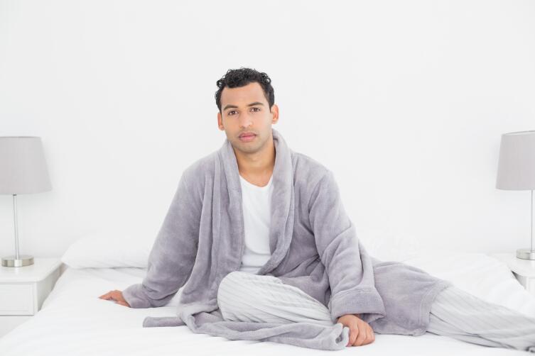Порой просто покупка халата может повлечь за собой неожиданные последствия