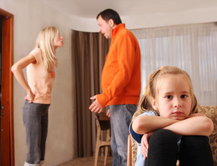 Выясняйте отношения без присутствия детей