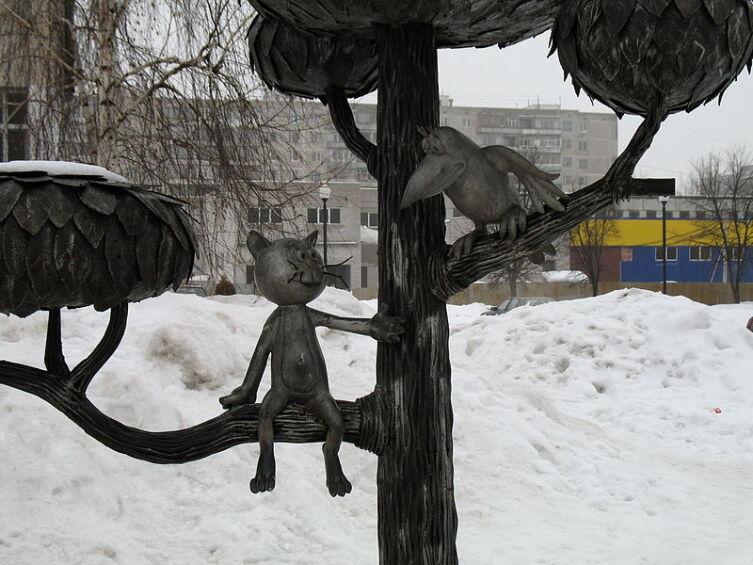 Памятник котенку с ул. Лизюкова