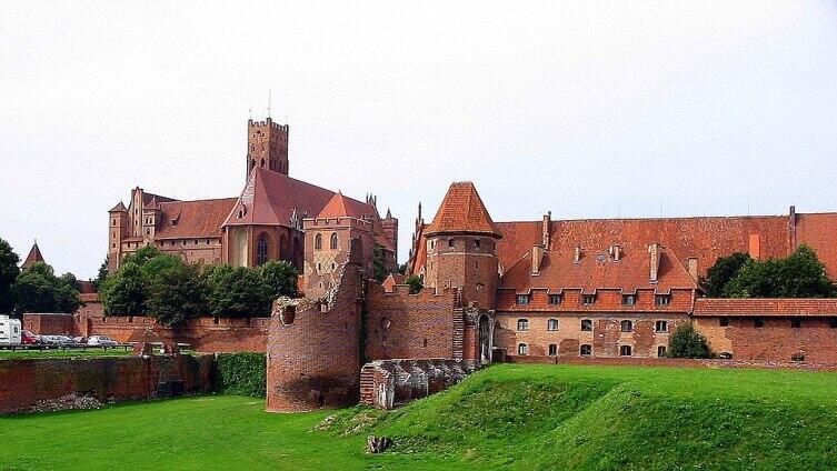 Замок Мариенбург, столица Тевтонского ордена