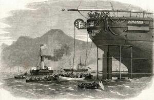 Как прокладывали подводный телеграфный кабель?