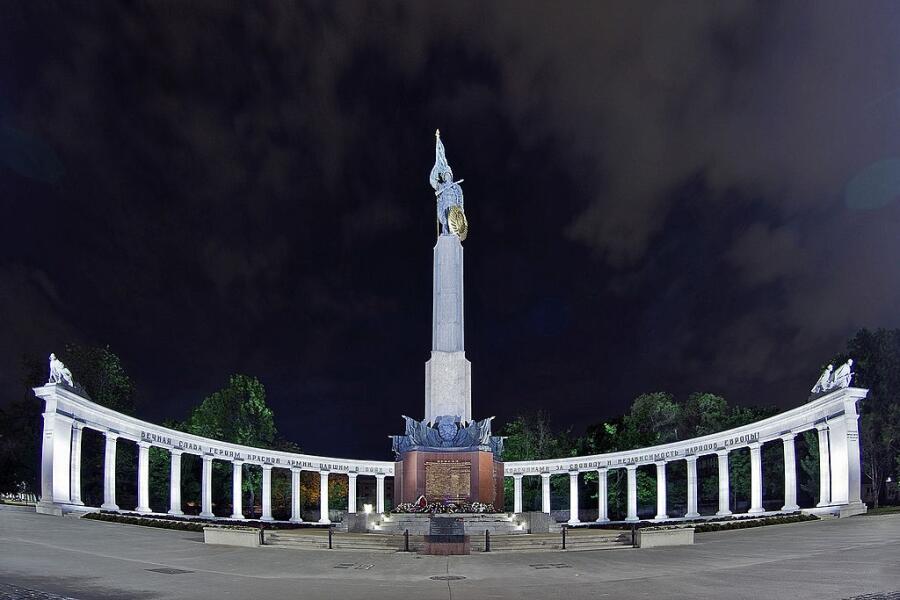 Памятник солдатам Красной Армии в Вене