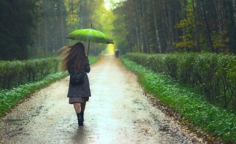 Интересно, что некоторые люди не переносят запах дождя