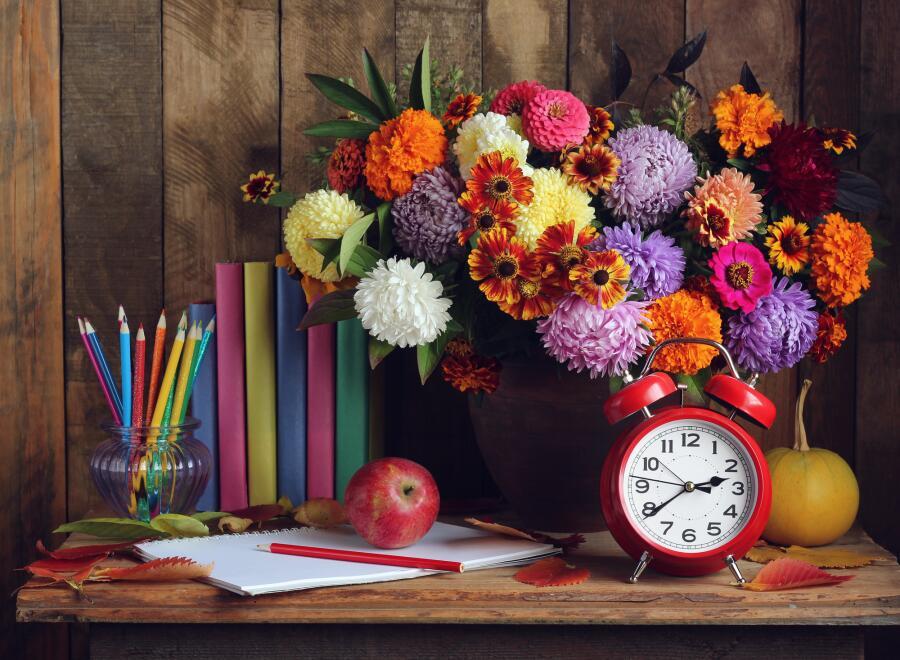 Что будем праздновать осенью? Дни знаний и учителей!