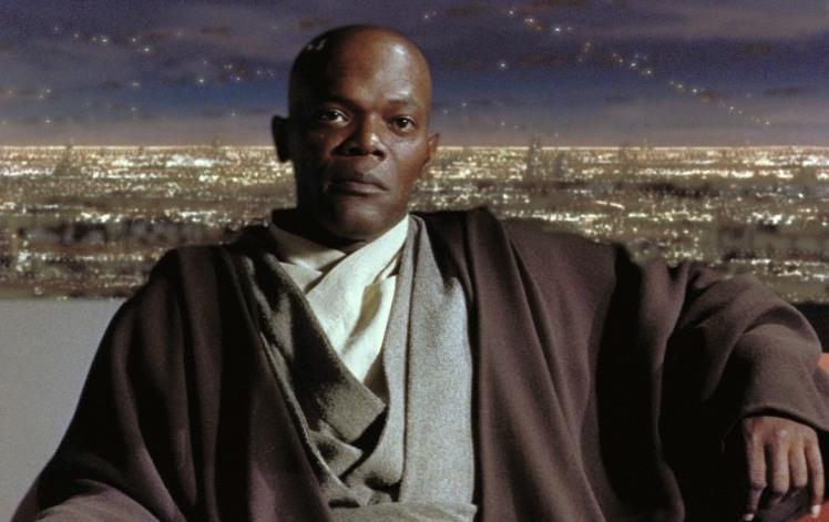 Кадр из к/ф «Звездные войны: Эпизод 1 — Скрытая угроза», 1999 г.