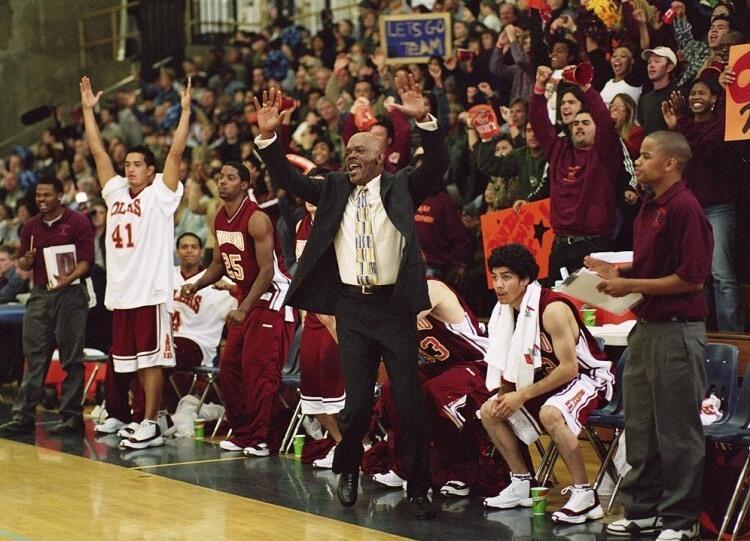 Кадр из к/ф «Тренер Картер», 2001 г.