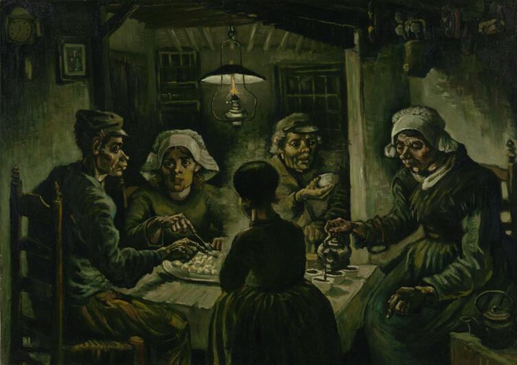 Винсент Ван Гог, «Едоки картофеля», 1895 г.