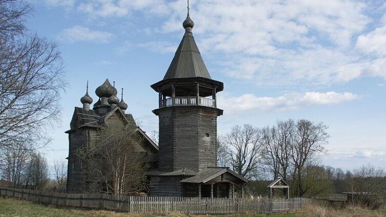 Церковь Дмитрия Мироточивого в 2008 г. Построена в 1783 г.