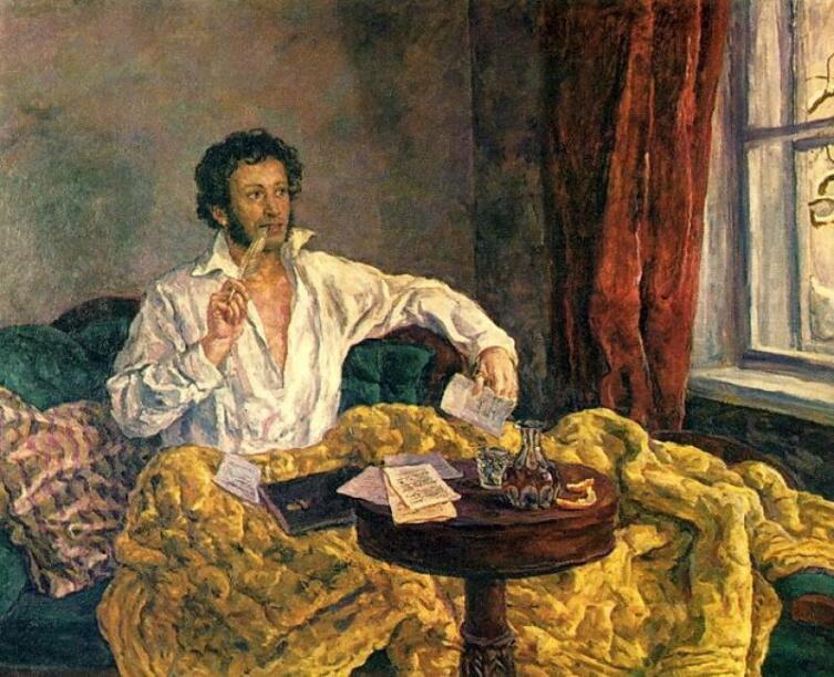 П. П. Кончаловский, «Пушкин в Михайловском», 1940 г.