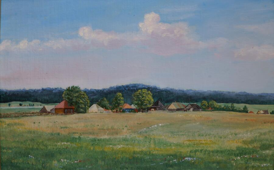 Николай Трутнев, «Родное село», 1978 г.