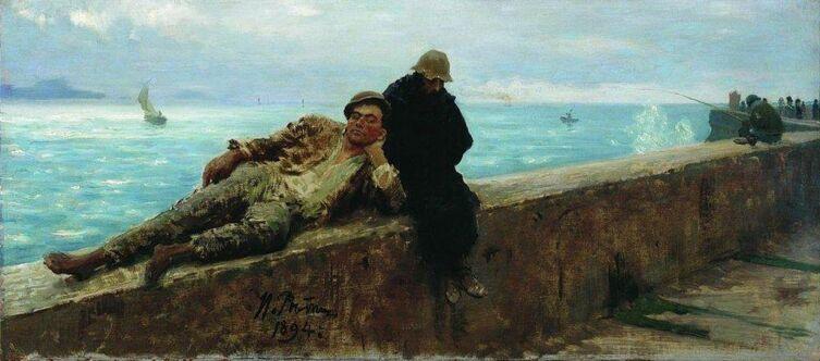 И. Е. Репин, «Босяки. Бесприютные», 1894 г.