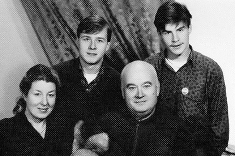 Семейное фото Моргуновых