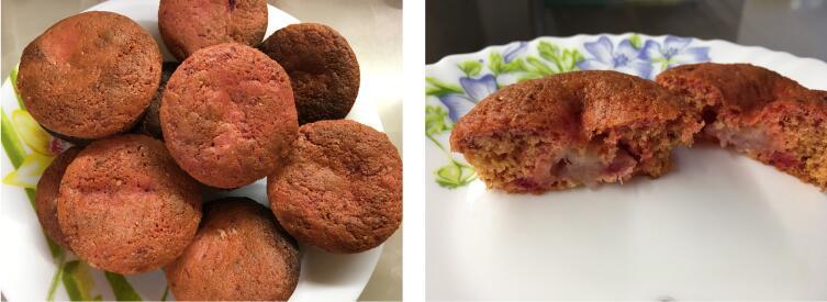 Готовые бисквиты (мини-шарлотки)