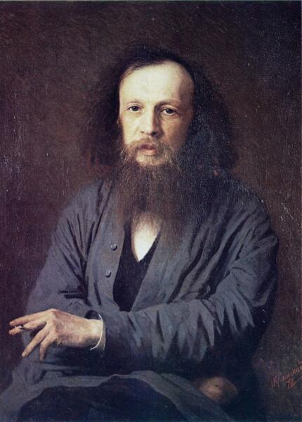 И. Н. Крамской, «Портрет химика Дмитрия Ивановича Менделеева», 1878 г.