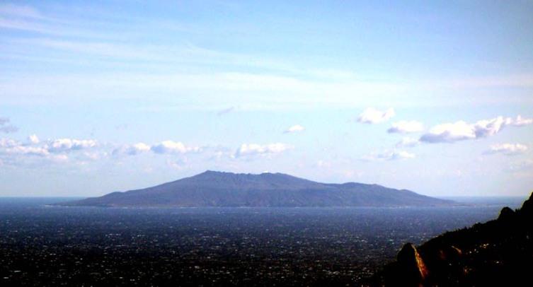 Вид острова Миякедзима