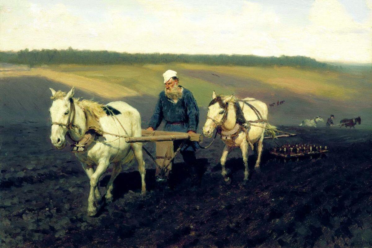 Лев Толстой - гений или обычный человек? Часть 1