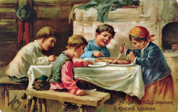 В. А. Табуринг, «Не красен обед пирогами, а красен едоками»