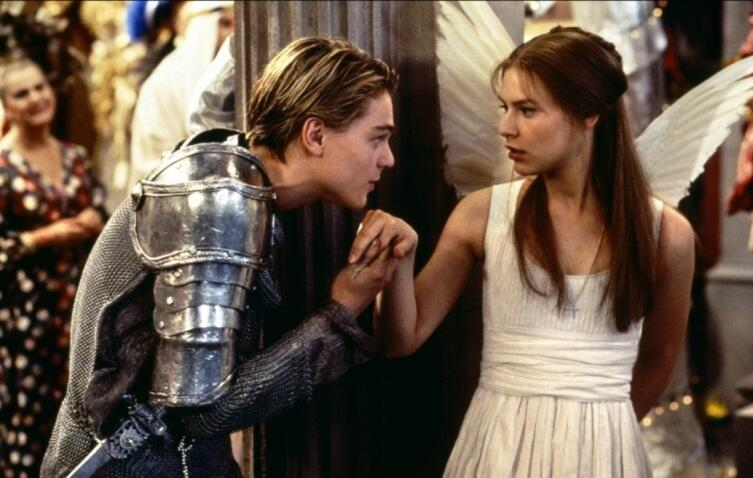Кадр из к/ф «Ромео + Джульетта», 1996 г.