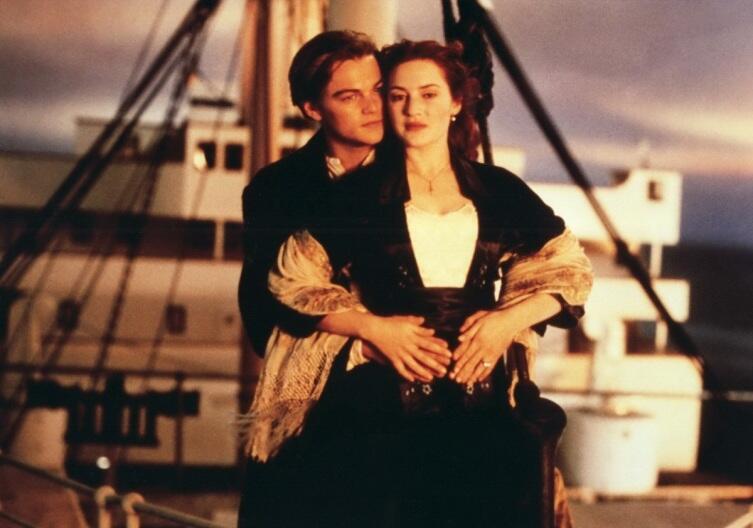 Кадр из к/ф «Титаник», 1997 г.