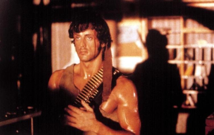 Кадр из к/ф «Рэмбо. Первая кровь», 1982 г.