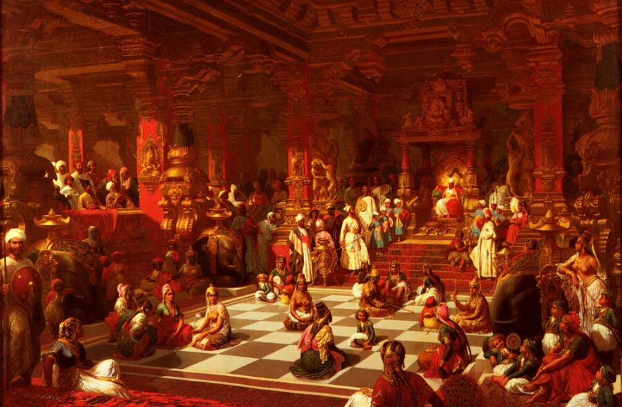 Анри-Пьер Пику, «Индийские шахматы», 1876 г.