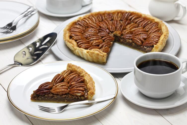 Домашний пирог с пеканом