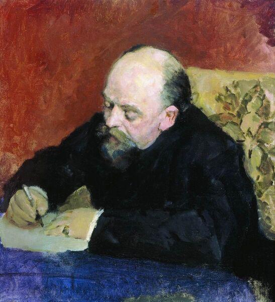 В. А. Серов, «Портрет Саввы Мамонтова», 1891 г.