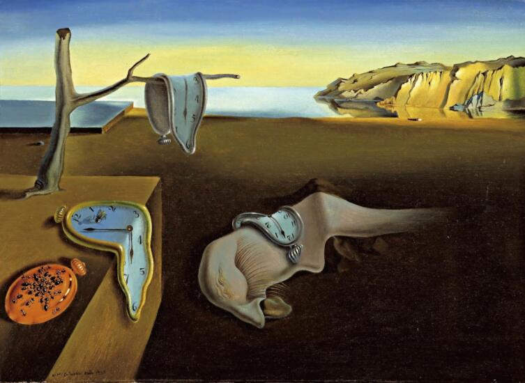 Сальвадор Дали, «Постоянство памяти», 1931 г.