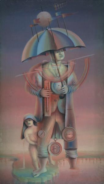 А. Г. Тышлер, «Директор погоды», 1926 г.
