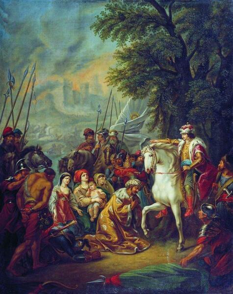 Г. И. Угрюмов, «Взятие Казани Иваном Грозным 2 октября 1552 года», 1800-е гг.