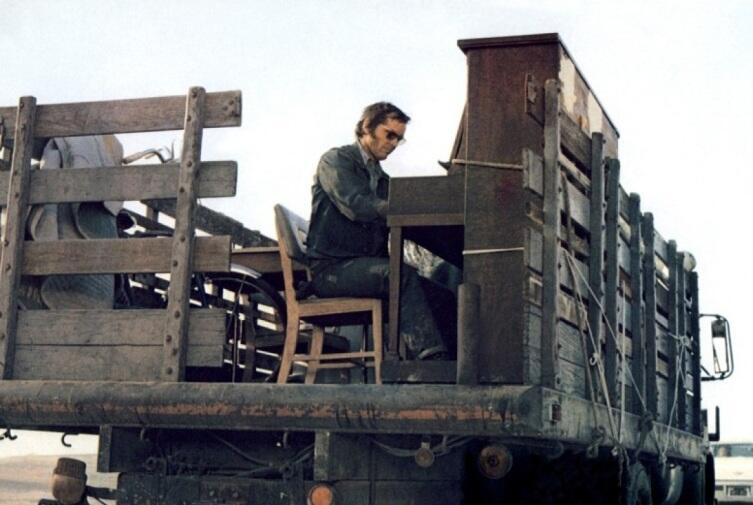 Кадр из к/ф «Пять легких пьес», 1970 г.