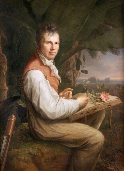 Фридрих Георг Вейтш, «Портрет Александра фон Гумбольдта», 1806 г.